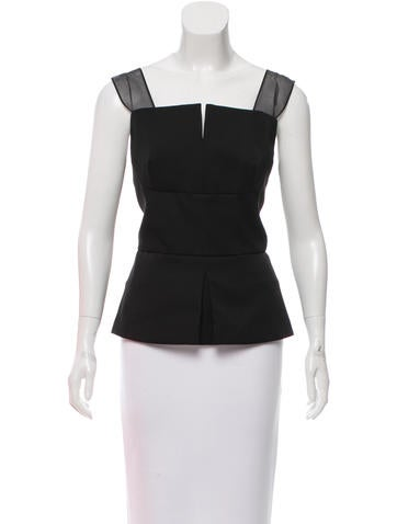 3.1 Phillip Lim Wool Sleeveless Top w/ Tags None