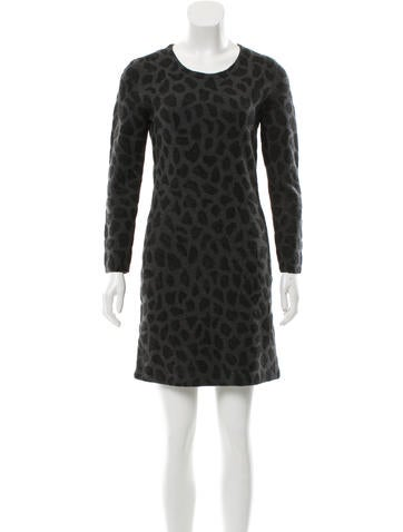 3.1 Phillip Lim Wool Long Sleeve Dress None