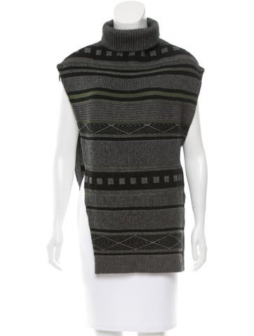 3.1 Phillip Lim Wool Patterned Top None