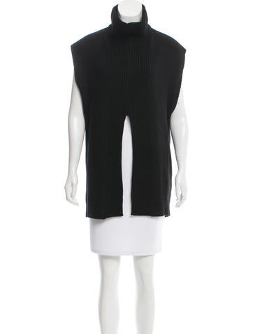 3.1 Phillip Lim Alpaca-Blend Sleeveless Tunic None