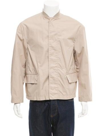 3.1 Phillip Lim Woven Bomber Jacket None