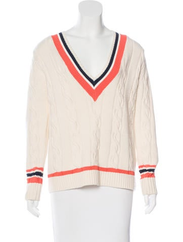 3.1 Phillip Lim Cashmere-Blend Cable Knit Sweater None