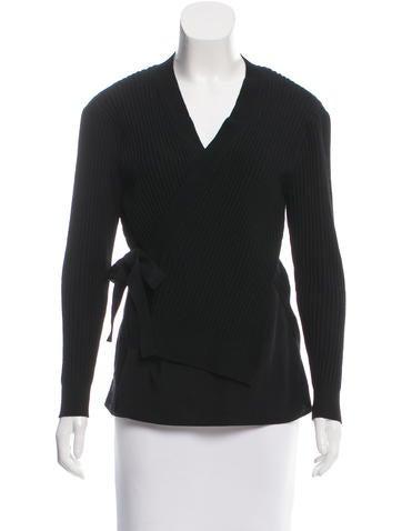 3.1 Phillip Lim Silk-Trimmed Wool Cardigan None