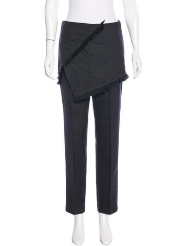 3.1 Phillip Lim Wool Skirt & Pant Combo None