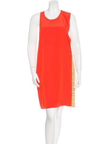 3.1 Phillip Lim Silk Two-Tone Dress None