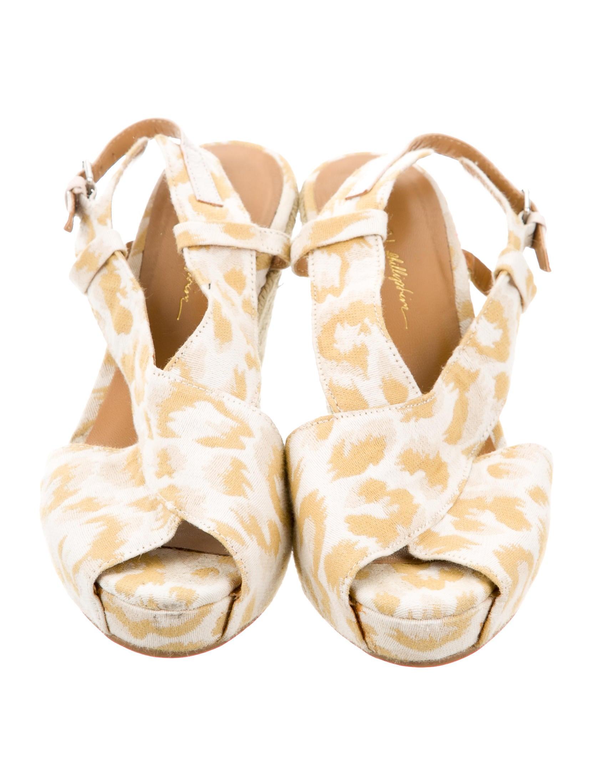 3 1 phillip lim patterned espadrille wedges shoes