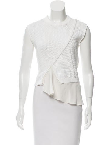 3.1 Phillip Lim Sleeveless Knit Top None