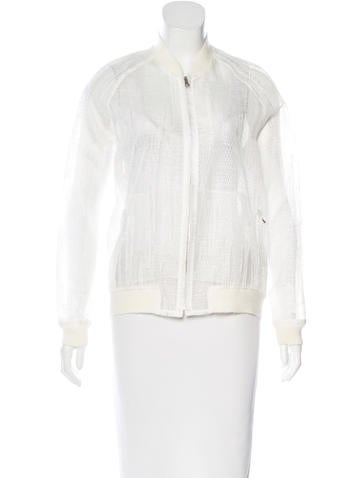 3.1 Phillip Lim Embroidered Bomber Jacket w/ Tags None