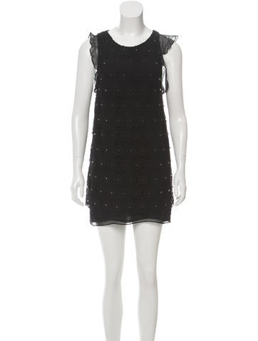3.1 Phillip Lim Floral Embroidered Sleeveless Tunic None
