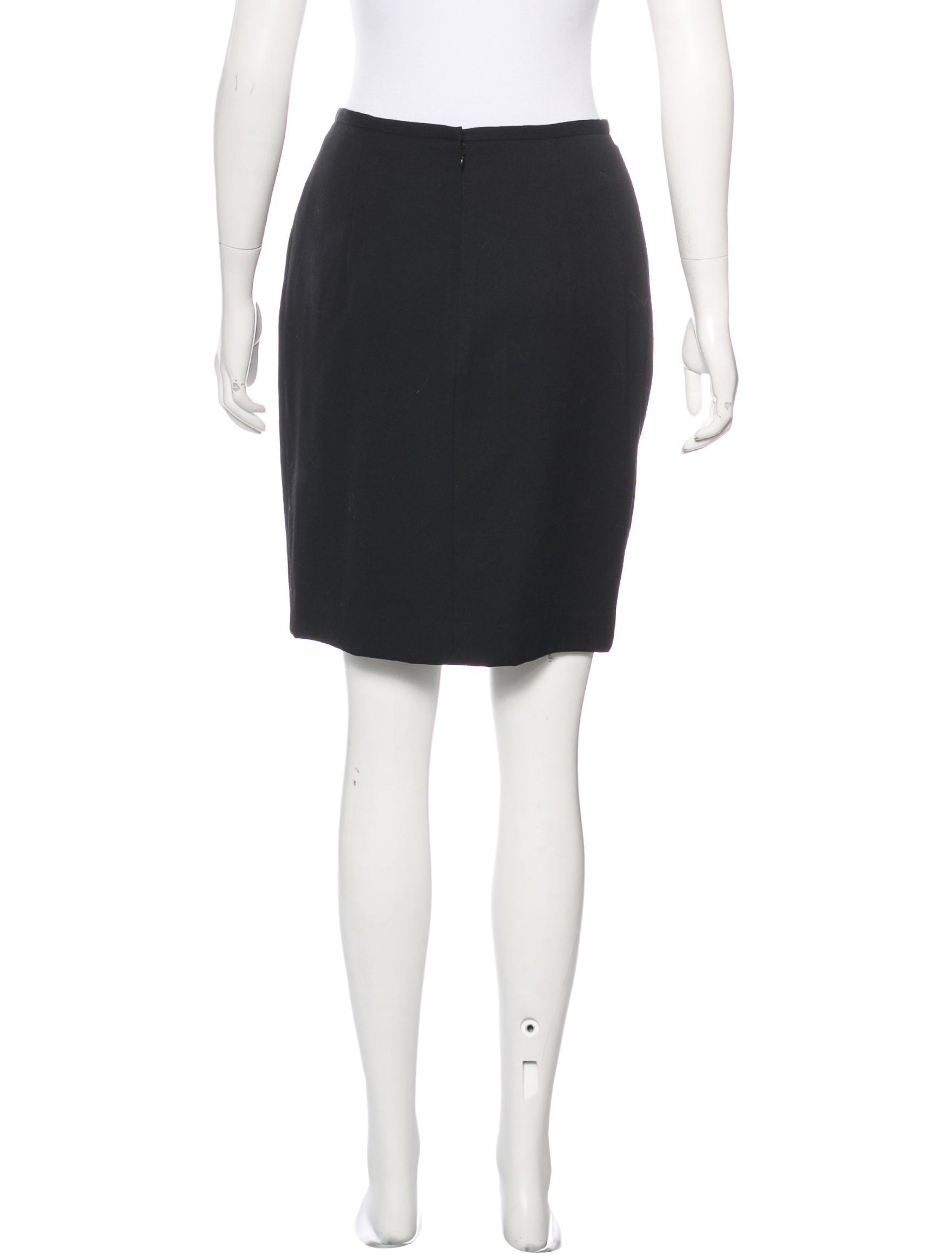 31 Phillip Lim Wool Pencil Skirt