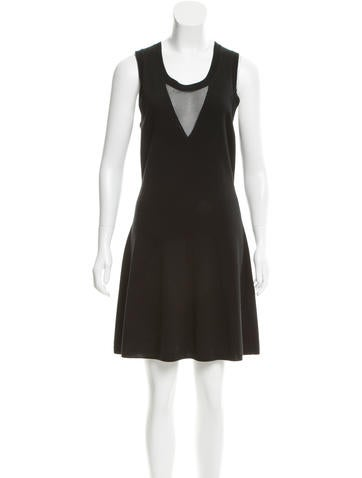 3.1 Phillip Lim Mini Wool Dress None