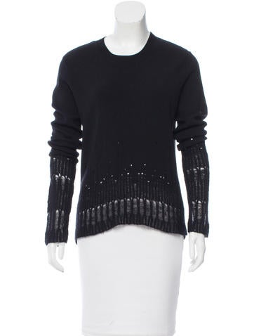 3.1 Phillip Lim Wool Distressed Top w/ Tags None