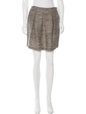 3.1 Phillip Lim Tweed Mini Skirt w/ Tags None