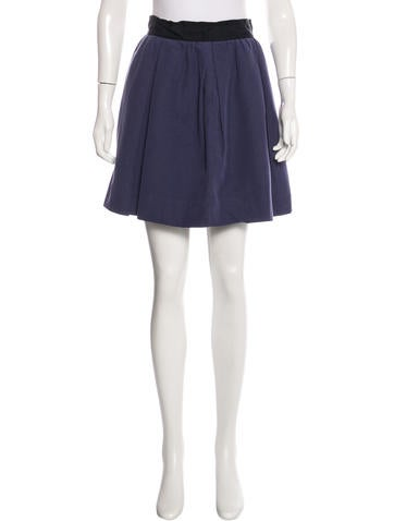3.1 Phillip Lim A-Line Mini Skirt None