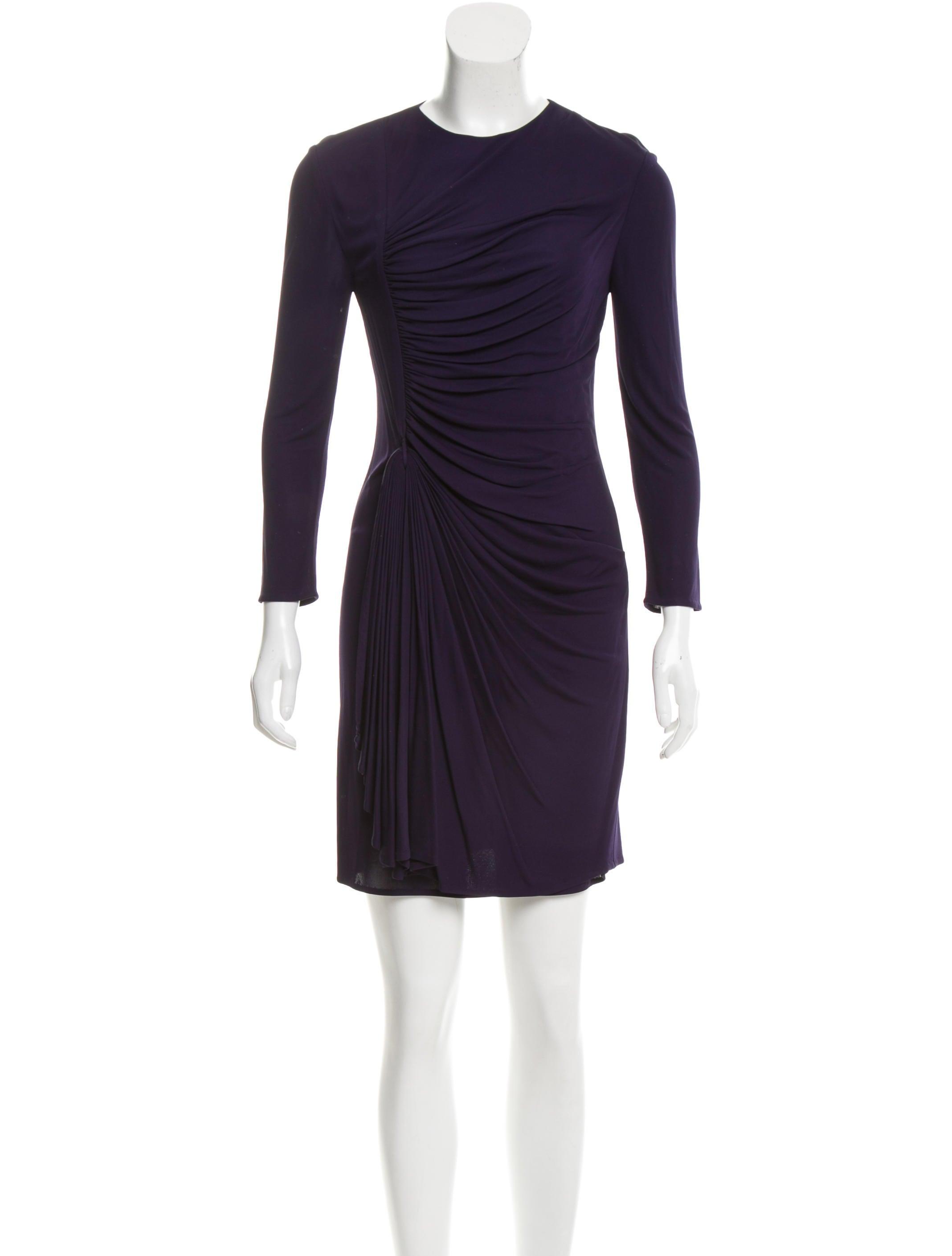 3.1 Phillip Lim Draped Mini Dress - Clothing
