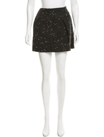 3.1 Phillip Lim Bouclé Mini Skirt None