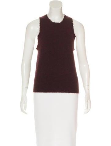 3.1 Phillip Lim Wool-blend Sleeveless Top None