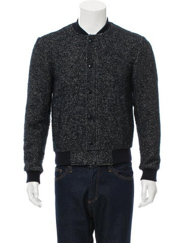 3.1 Phillip Lim Rib Knit-Trimmed Zip-Up Jacket None