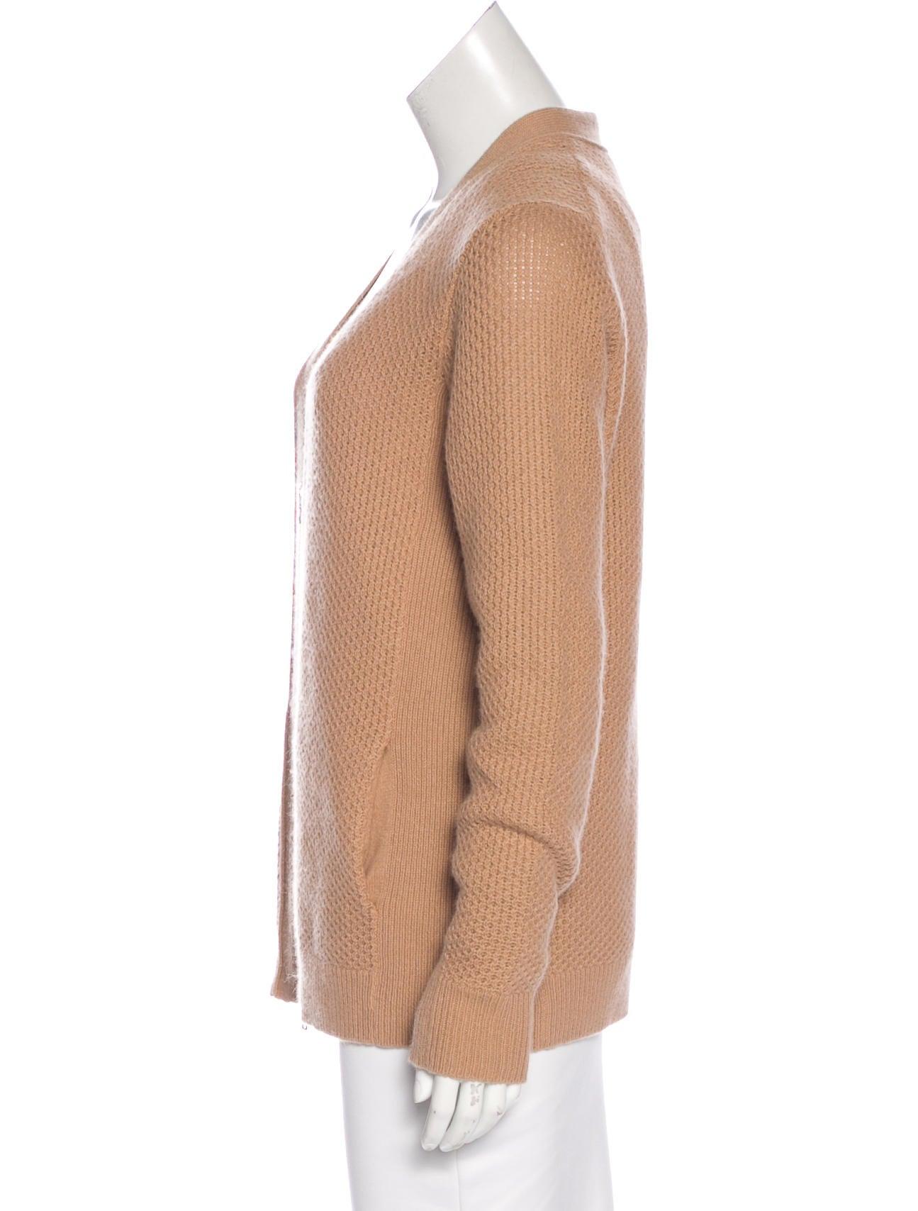 Women'S Wool Zip Cardigan 119