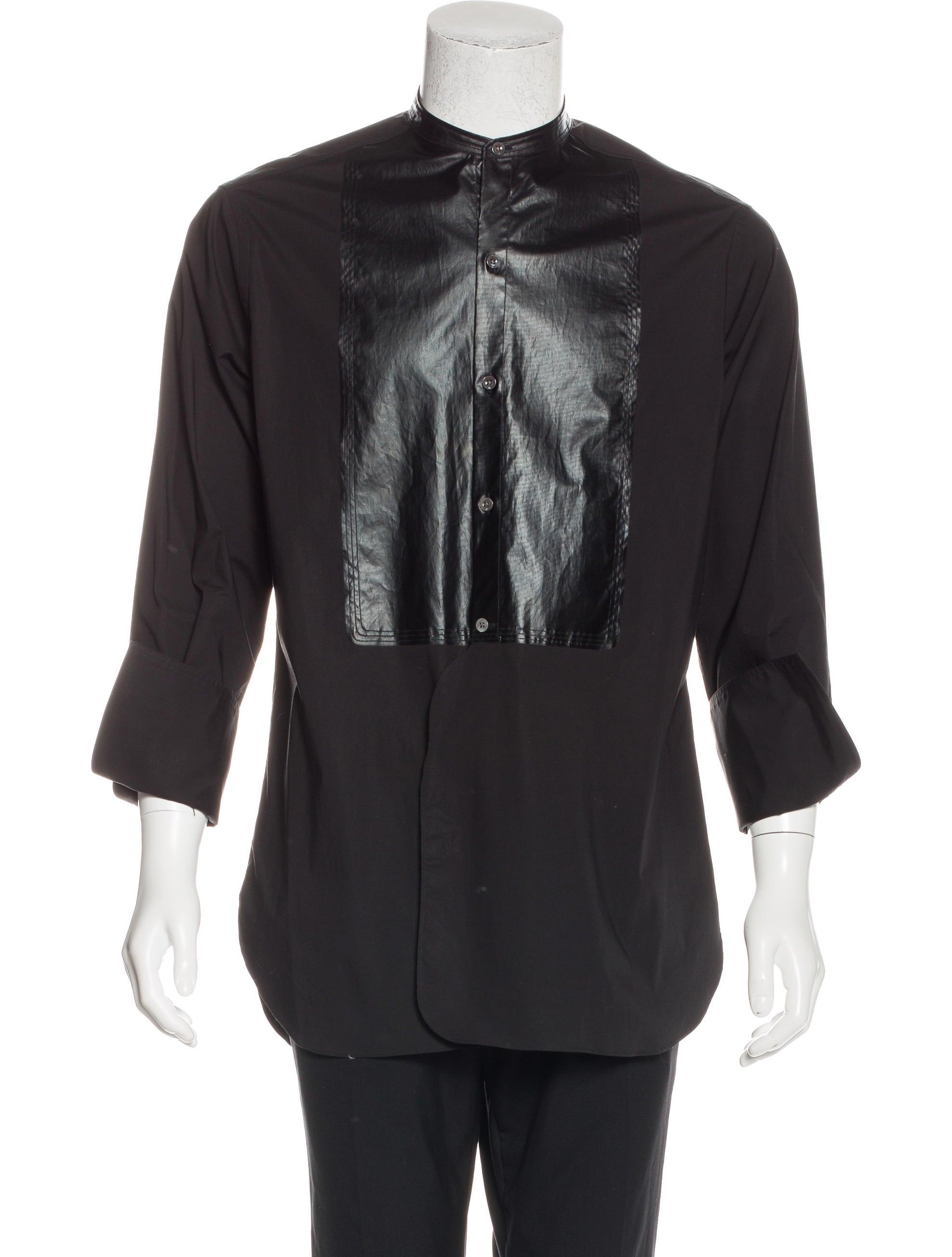 3 1 phillip lim tuxedo french cuff shirt clothing for Tuxedo shirt french cuff