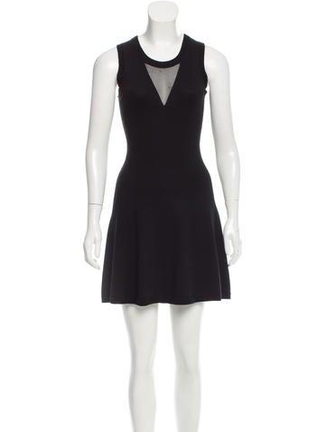 3.1 Phillip Lim Wool Mini Dress None