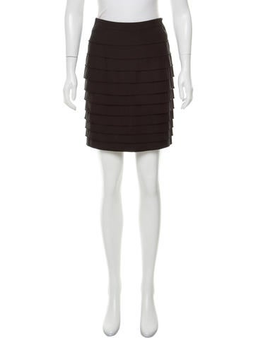 3.1 Phillip Lim Wool Mini Skirt w/ Tags None