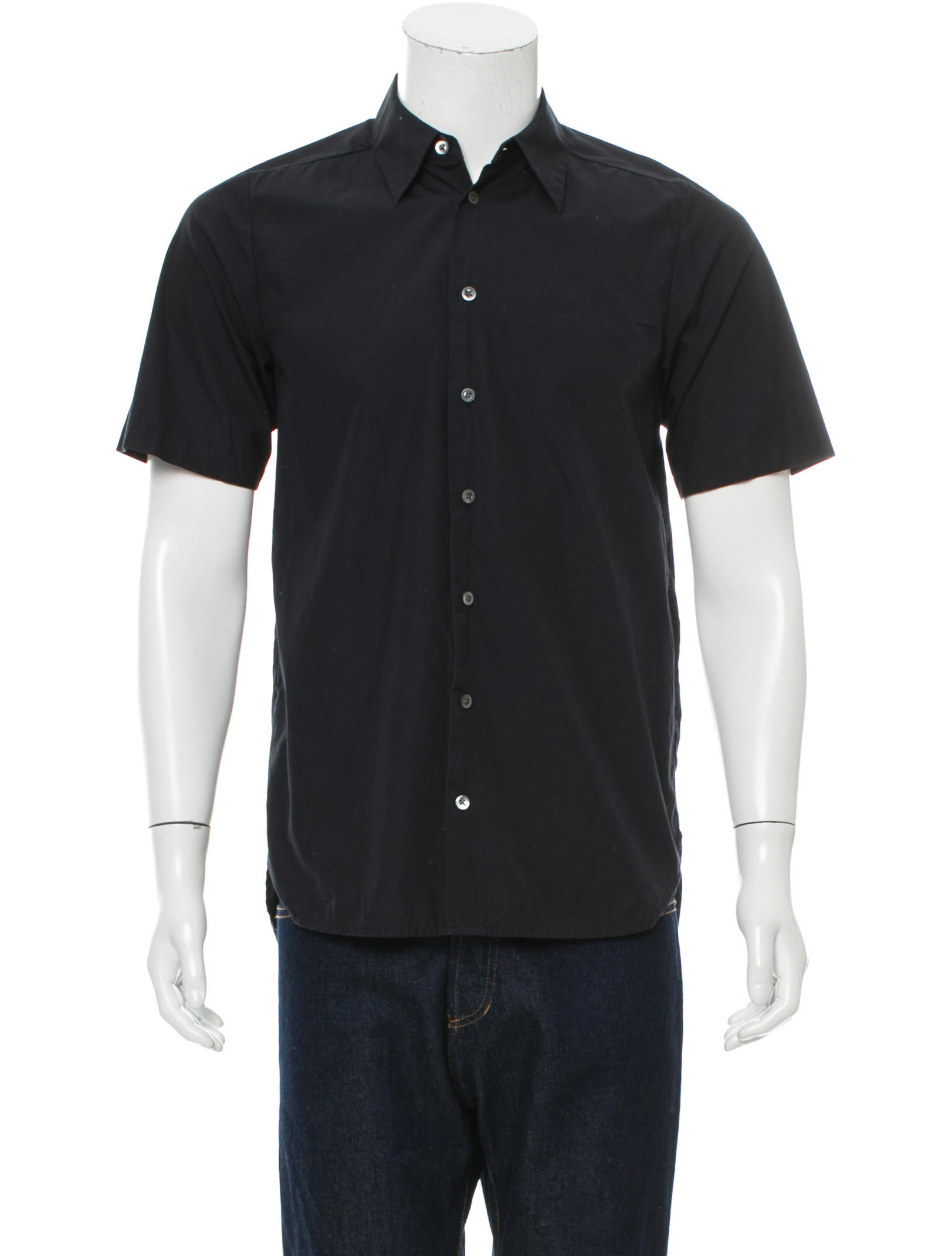 3 1 Phillip Lim Short Sleeve Button Up Shirt Clothing