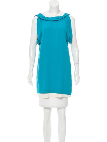 3.1 Phillip Lim Sleeveless Silk Tunic None