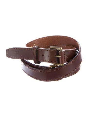 how to wear a double wrap belt