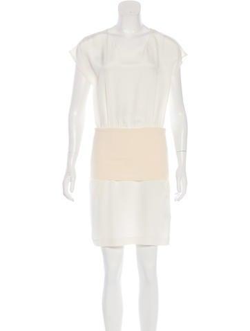 3.1 Phillip Lim Satin Mini Dress None