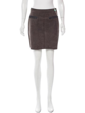 3.1 Phillip Lim Leather Mini Skirt w/ Tags None