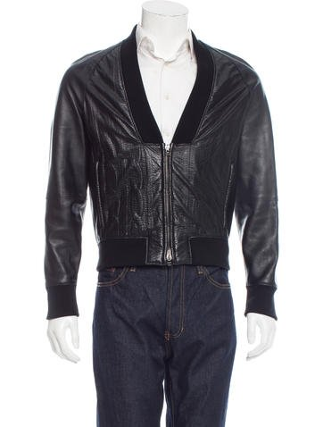 3.1 Phillip Lim Zip-Up Leather Jacket None
