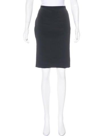 3.1 Phillip Lim Woven Pencil Skirt None