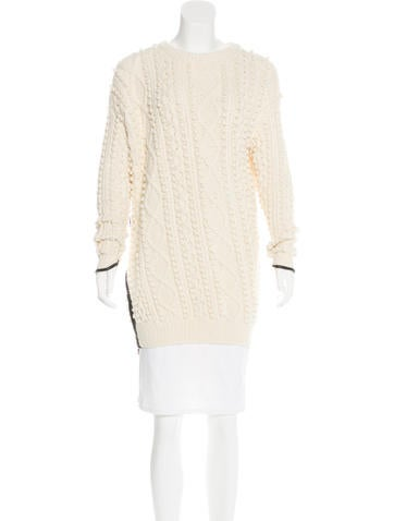 3.1 Phillip Lim Wool-Blend Knit Sweater None