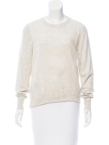 3.1 Phillip Lim Silk-Trimmed Wool Sweater None