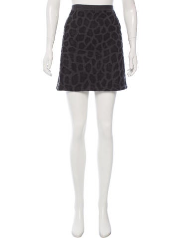 3.1 Phillip Lim Wool Mini Skirt None