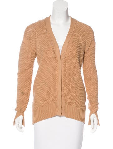 3.1 Phillip Lim V-Neck Long Sleeve Cardigan None