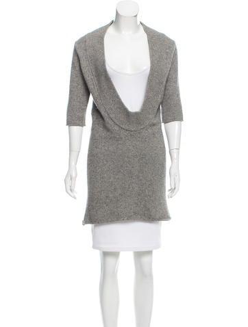 3.1 Phillip Lim Cashmere-Blend Scoop Neck Sweater None