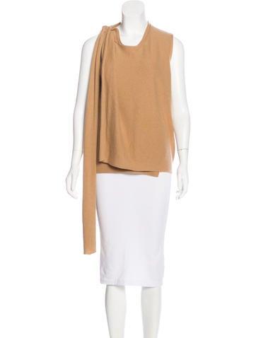 3.1 Phillip Lim Wool & Cashmere Sleeveless Sweater None