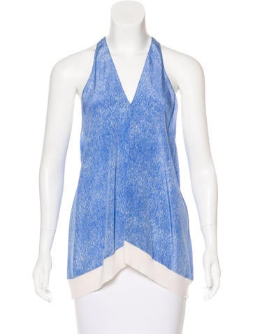 3.1 Phillip Lim Silk Sleeveless Top None