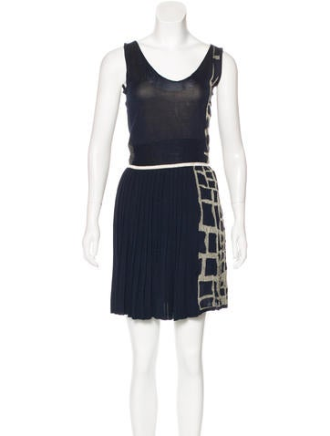3.1 Phillip Lim Silk Jacquard Dress None