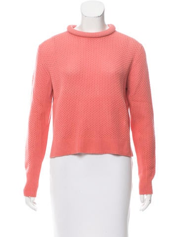 3.1 Phillip Lim Waffle Knit Wool Sweater None