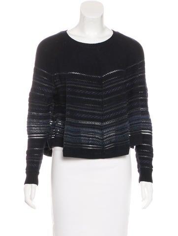 3.1 Phillip Lim Knit Flare Sweater None