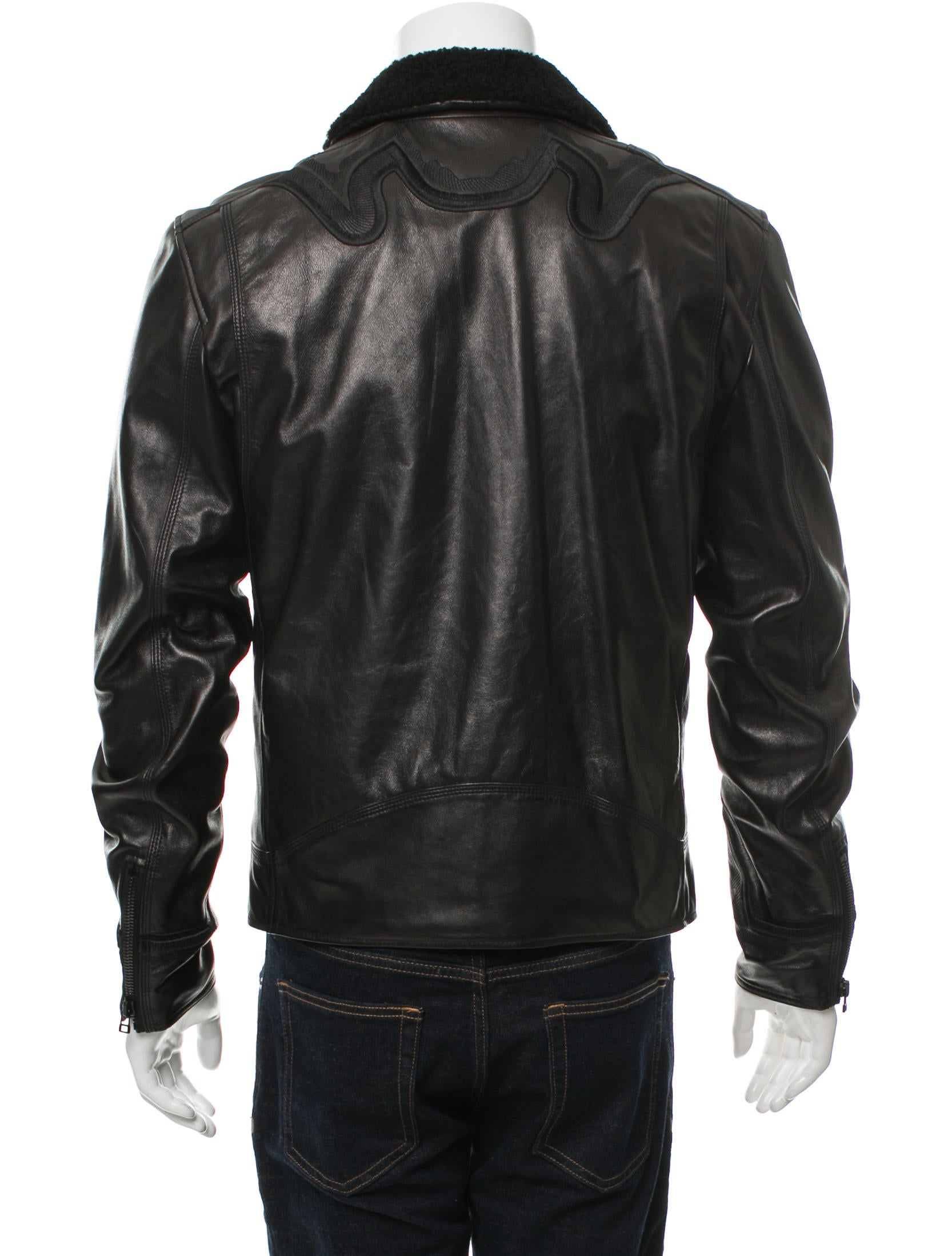 Phillip lim mens leather jacket