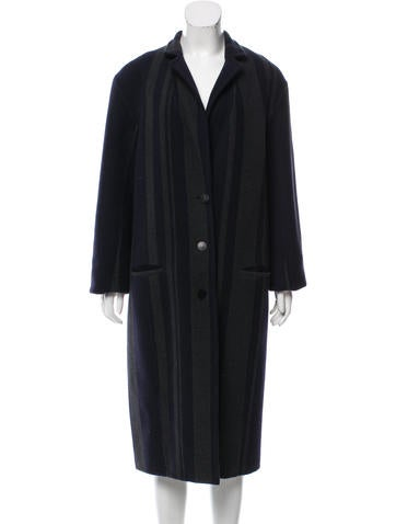 3.1 Phillip Lim Striped Long Coat None