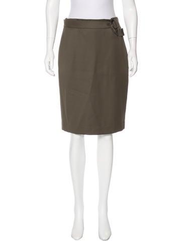 3.1 Phillip Lim Woo Knee-Length Skirt None