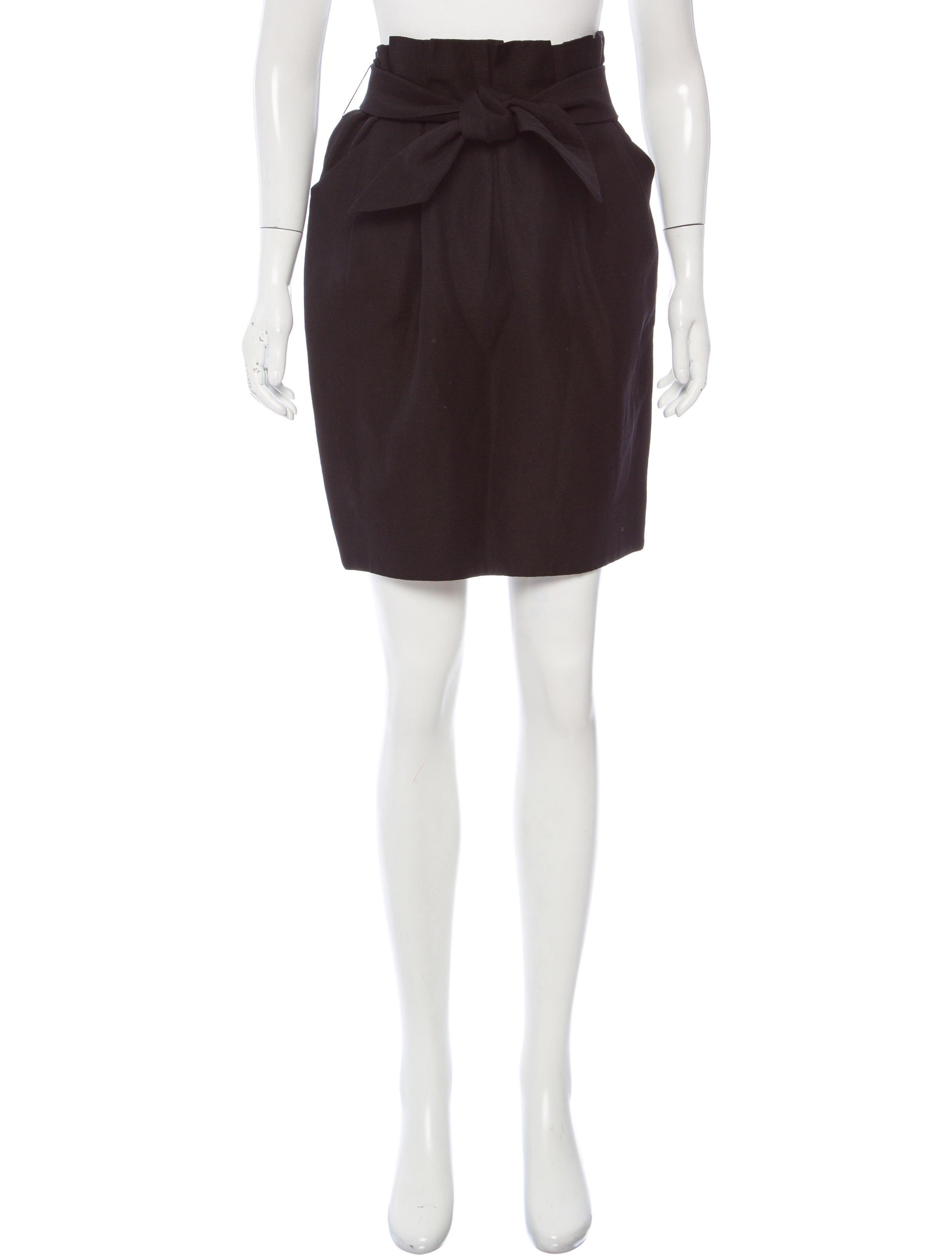 3.1 Phillip Lim Wool & Linen Mini Skirt