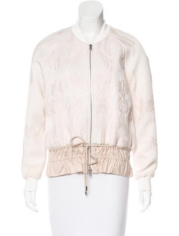 3.1 Phillip Lim Quilted Bomber Jacket None