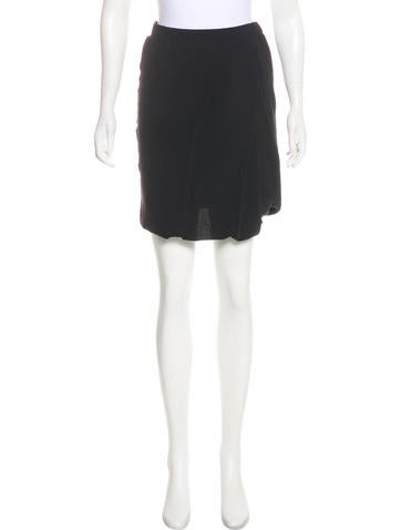 3.1 Phillip Lim Silk Mini Skirt None