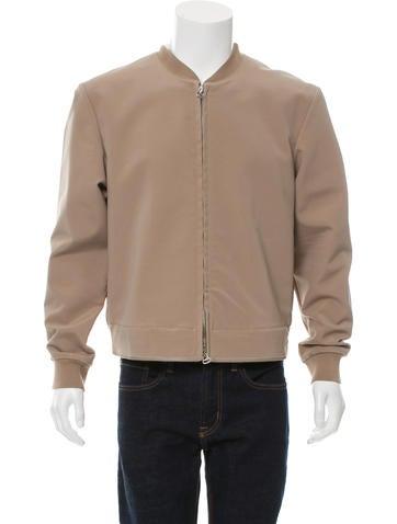 3.1 Phillip Lim Rib Knit-Trimmed Bomber Jacket None